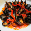 Linguini w/Mussels in - Marinara, Fra Diavolo, Sweet, or Garlic Sauce